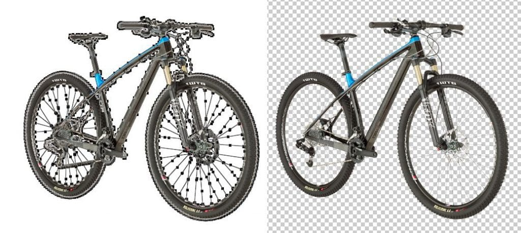 Complex Image Clipping Path