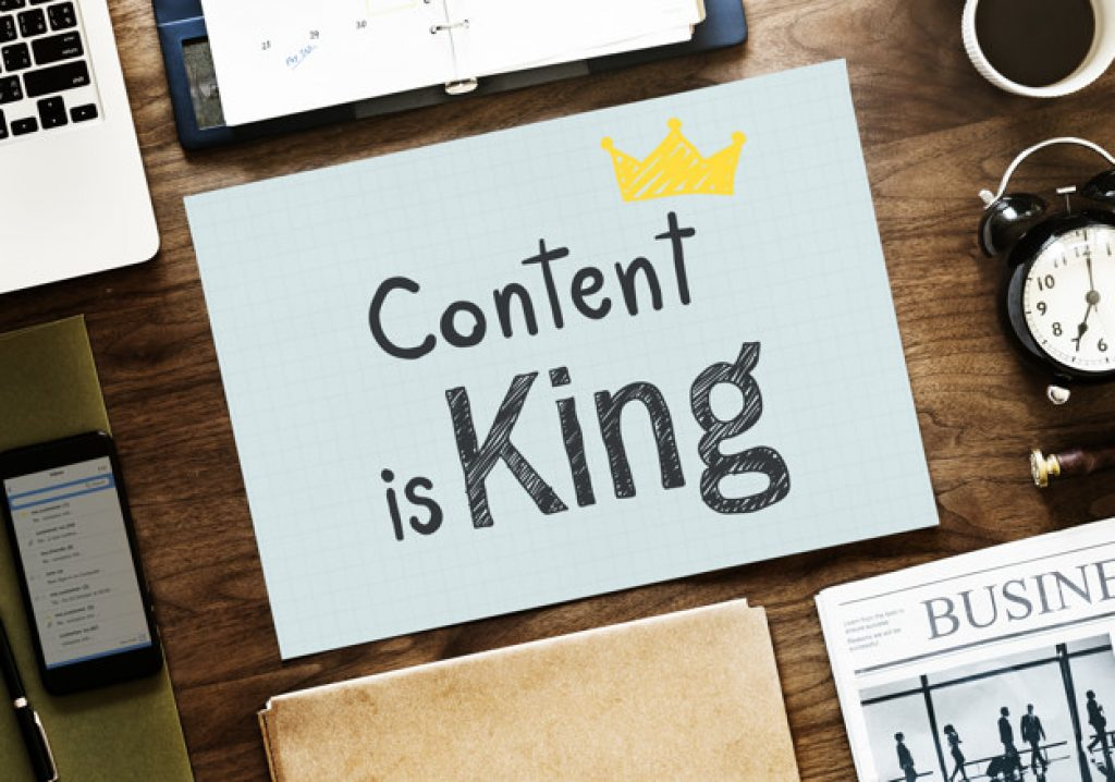 Content is the King of SEO Friendly Content