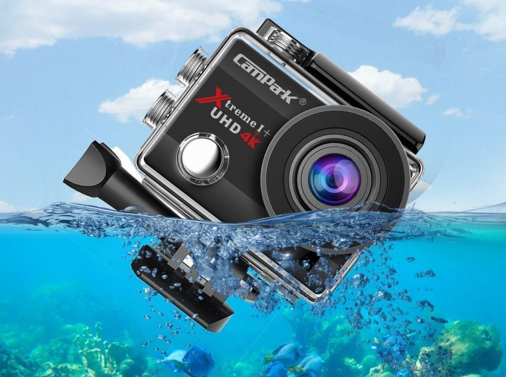 Campark ACT74 The best waterproof action camera